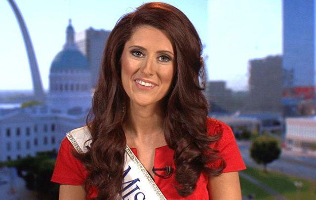Miss Missouri Erin O'Flaherty.