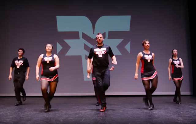 Halfway to St Patrick\'s Day dance video from the Fusion Fighters Irish Dance Company.