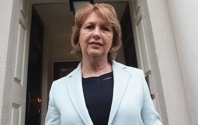 Former president of Ireland, canon lawyer, and human rights activist Mary McAleese.