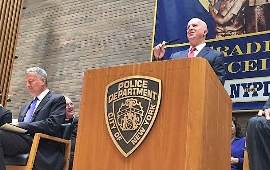 New York's New Police Commissioner and proud Irish American James P. O'Neill.