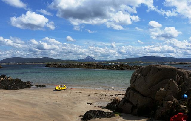 The uninhabited Islands of Western Donegal.