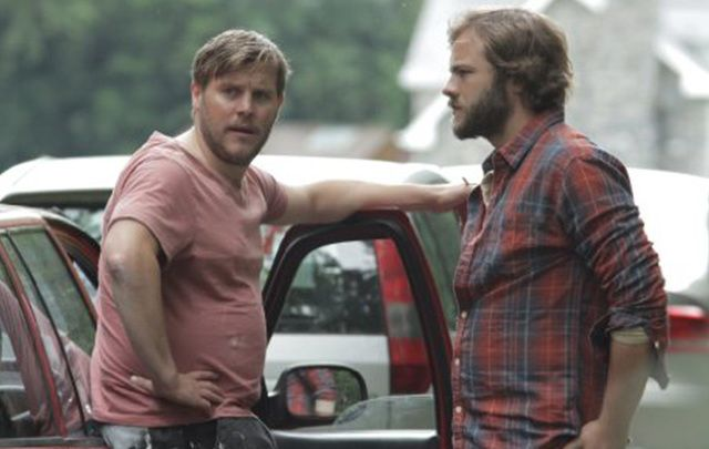Peter Coonan and Moe Dunford star in Gridlock.