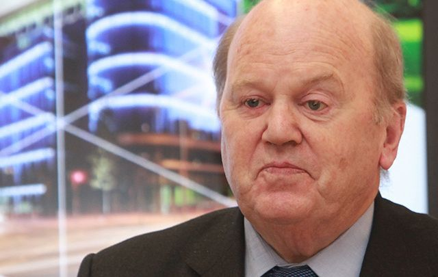 Irish Finance Minister Michael Noonan.