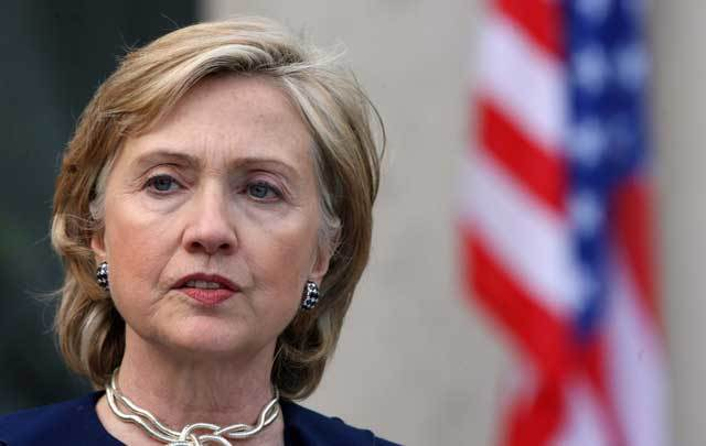 Hillary Clinton has been praised for her work in Northern Ireland by Father Des Wilson, an iconic figure of The Troubles.