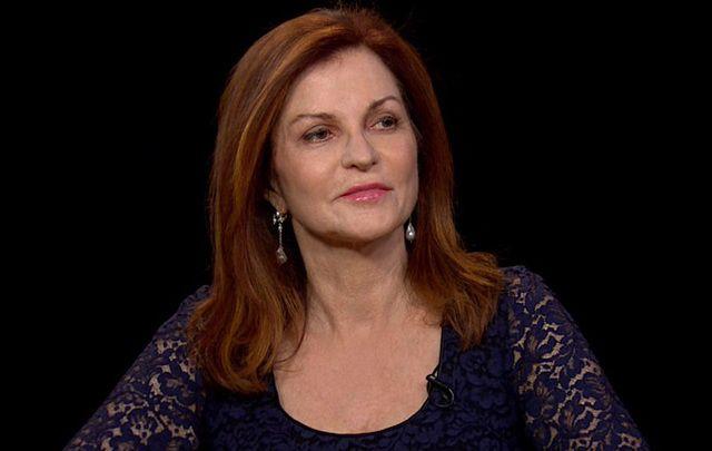 Pulitzer Prize winning New York Times columnist Maureen Dowd.