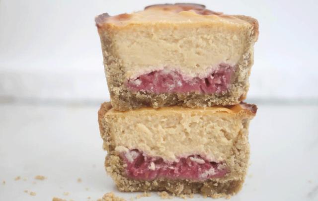 Rozanna Purcell's PB & J protein tart