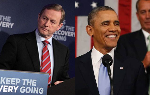 Taoiseach Enda Kenny calls on US President Barack Obama to intervene.
