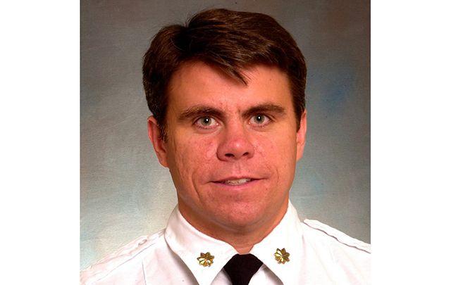 Fallen battalion chief Micheal Fahy.