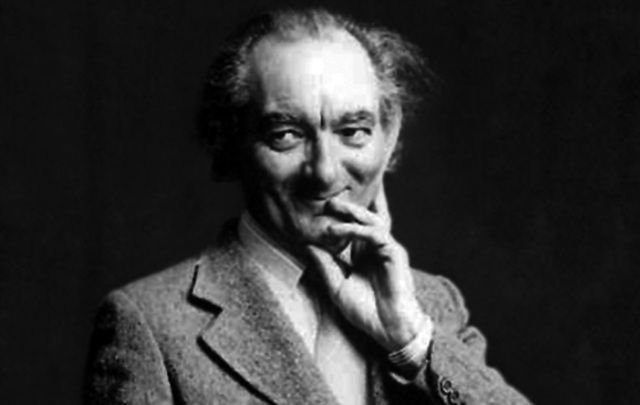 Playwright and genius Brian Friel.