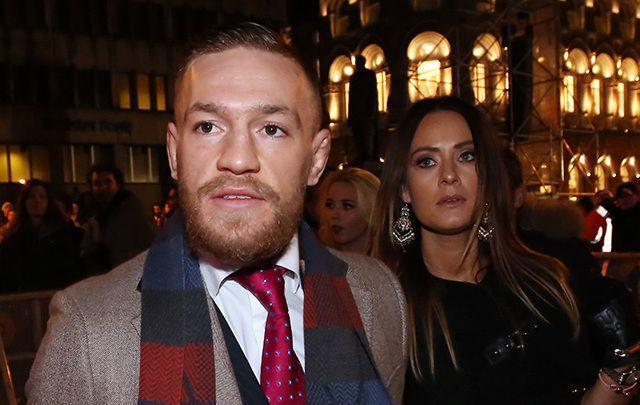 Conor McGregor and his  girlfriend Dee Devlin.