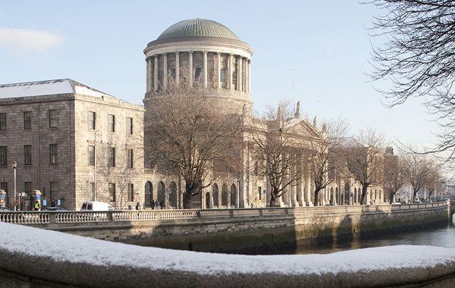 Dublin's Four Courts.