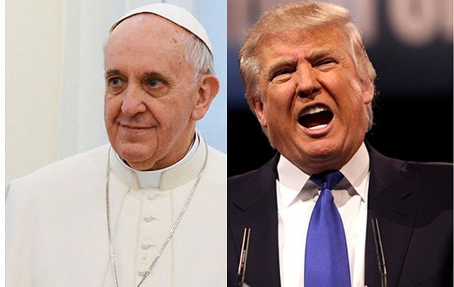 Trump establishes a Catholic advisory group despite calling the Pope despicable.