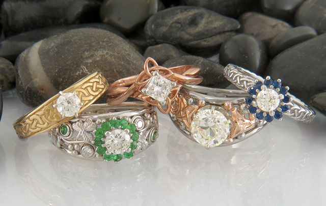 Celtic Wedding Ring Sets