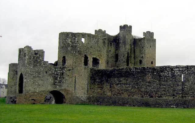 Trim Castle in Co. Meath is the largest Anglo-Norman castle in Ireland.