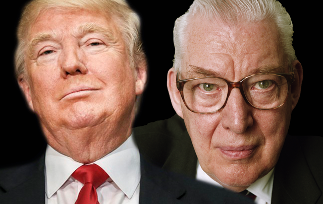 Donald Trump and Ian Paisley: Irish voters know where a bigoted demagogue leads a nation.