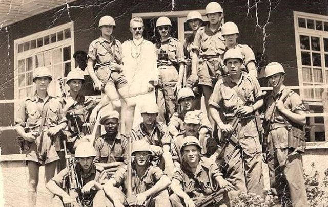 Irish soldiers in the Congo.