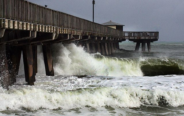 Over 3 million people evacuated along the US coast as Hurricane Matthew hits land.