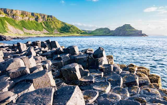 The Giant's Causeway in Co Antrim.