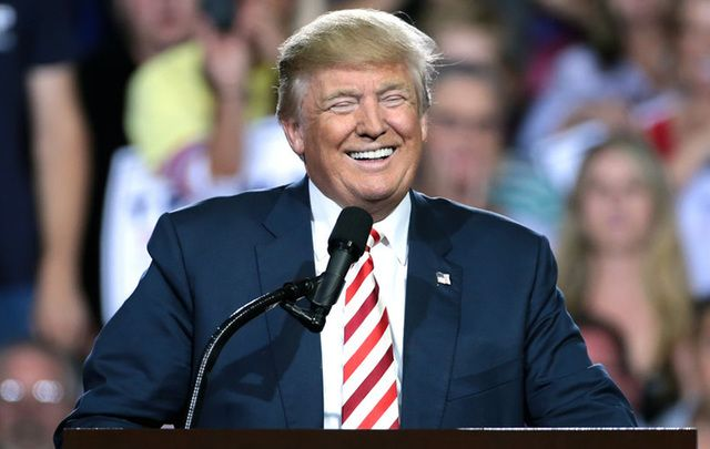 Republican candidate Donald Trump.