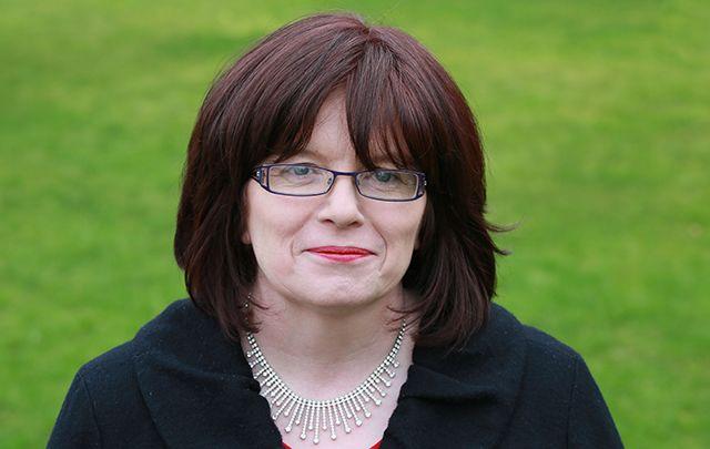 Author Ann O'Loughlin.