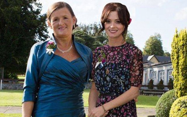Grieving mother Brigid Sweetman and her daughter Cathriona White, who took her own life in 2015.
