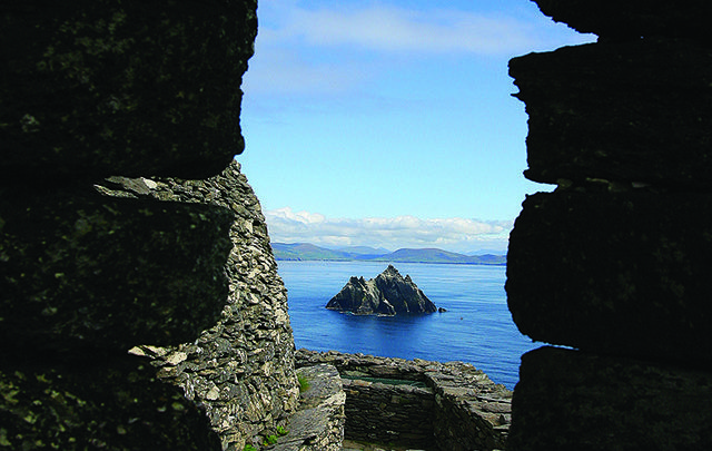 Views for Skellig Michael.