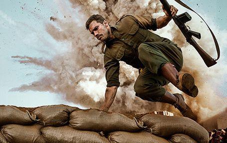 "Jamie Dornan in the Netflix original \""The Siege of Jadoville.\"""