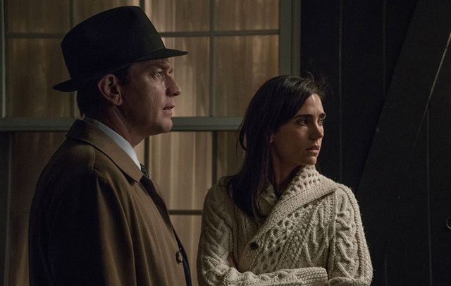 Ewan McGregor and Jennifer Connelly in a scene from American Pastoral.