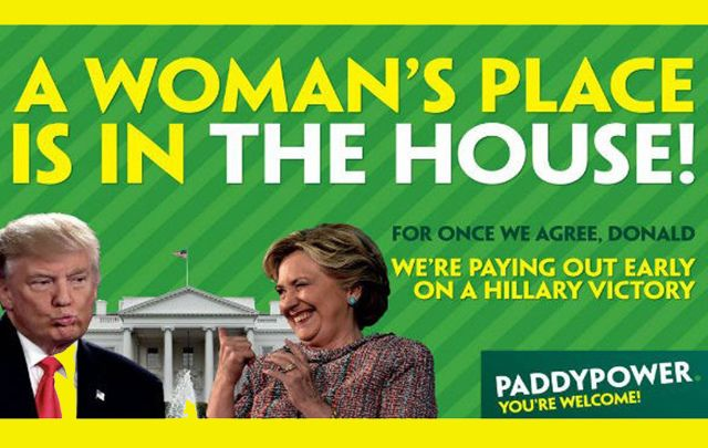 Our writer Dermot McEvoy was told by Paddy Power his €1 bet on Trump was a loser before the votes had even been cast.