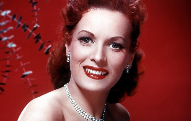 Legend of the silver screen Maureen O'Hara.