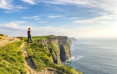 Thumb man cliffs moher clare getty