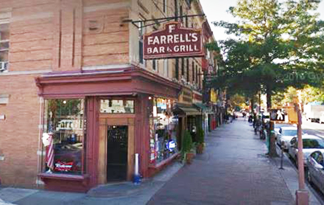 Farrell's Bar in Windsor Terrace, Brooklyn, New York.
