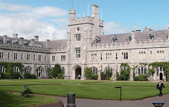 University College Cork campus, The Quad.