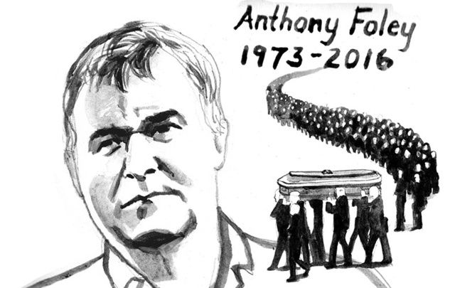 The best of the Irish was on display when paying tribute to Irish rugby hero Anthony Foley.