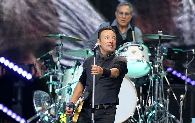 Bruce Springsteen playing at Croke Park in Dublin in May 2016.
