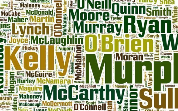 Irish surnames have very interesting origins.