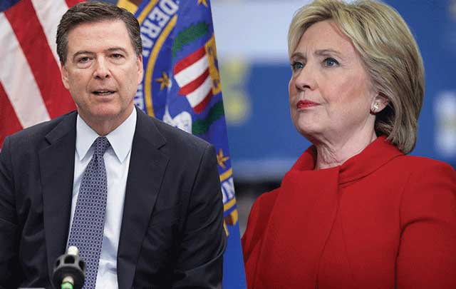 Comey S Wife Devastated When Hillary Clinton Lost: Hillary Tells Irish American FBI Director Comey To Put Up