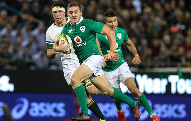 Rugby star Paddy Jackson play for Ireland.