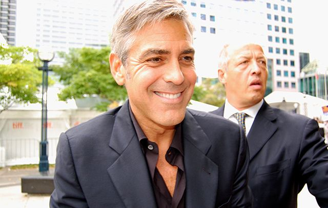 George Clooney is a strong Clinton supporter.