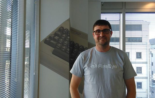 Tom Keating (pictured) is the MD of FireEye's Dublin office. Previously he was running the Irish office for security firm Mandiant before it was bought by FireEye in 2013.