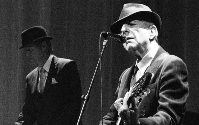 The late great Leonard Cohen, RIP.