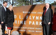 Thumb_cut_mayor_marty_walsh_pictured_with_cathy_flynn_and_mayor_flynn_unveiling_the_raymond_l._flynn_marine_park