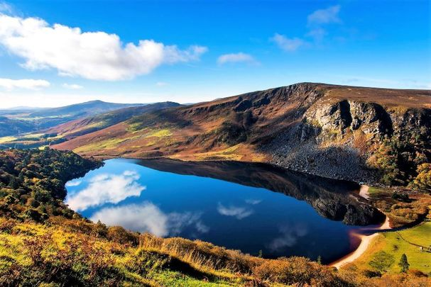 Lough Tay or The Guinness Lake, Co Wicklow