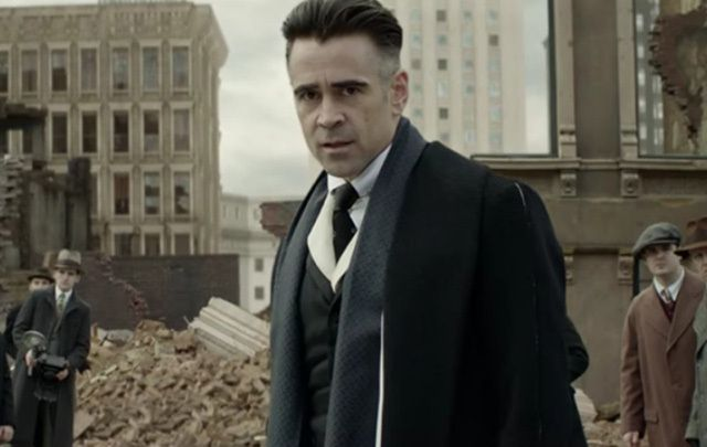 "Colin Farrell in J.K. Rowling's ""Fantastic Beasts and Where to Find Them."""