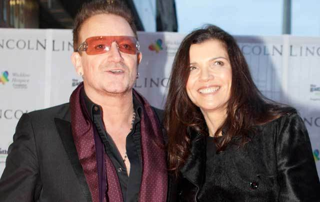 U2\'s Bono and his wife, Ali Hewson.