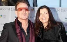 U2's Bono and wife Ali Hewson celebrate 38th wedding anniversary
