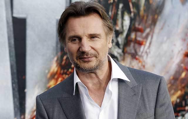 Irish actor Liam Neeson.