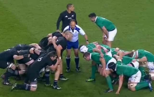 Ireland was defeated by the All Blacks in Dublin.