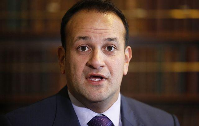 Ireland's Minister for Social Protection Leo Varadkar.