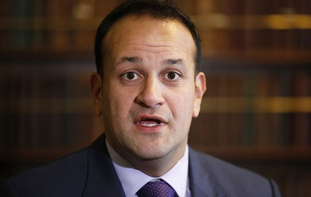 Ireland\'s Minister for Social Protection Leo Varadkar.